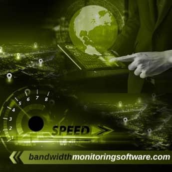 bandwidth monitoring software image